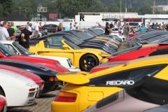 über 1000 Fahrzeuge standen auf dem Wasen