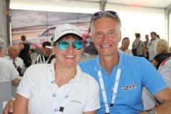 Die Prochaskas, das Präsidentenpaar vom 'Porsche Club für den klassischen 911 Südwest'