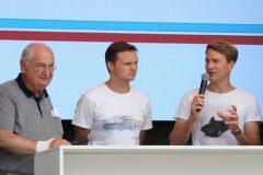 Norbert Singer, Marc Lieb und Dirk Werner