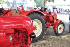 die legendären Porsche-Diesel-Traktoren durften nicht fehlen