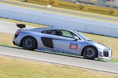 # 10  Ergebnis von vielen Windkanaltests - der Audi R8