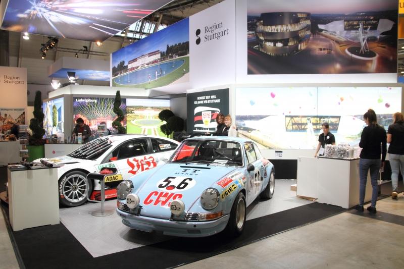 Porsche und Mercedes unter einem Dach