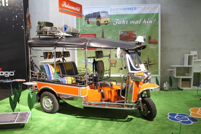 Reisemobil auf drei Rädern