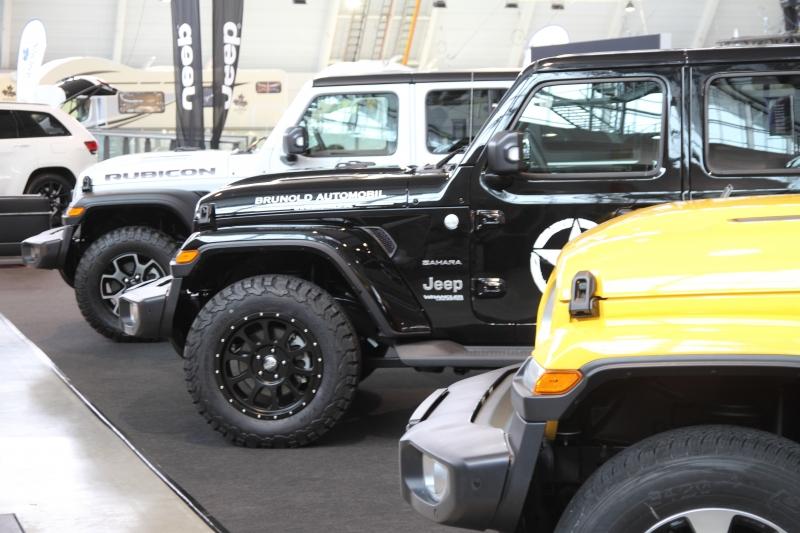 im Jeep ist Allrad Standard