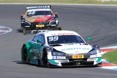 'Rocky' Rockenfeller erreichte als bester Audi Rang 11 im ersten Rennen_1248