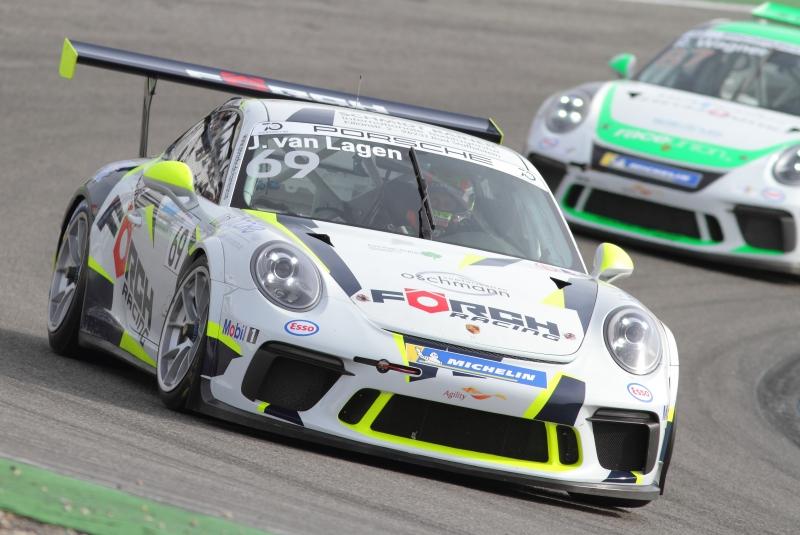 Beliebt bei den Fans - der Carrera Cup - Foto Eberhard Strähle