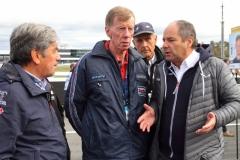DTM-Boss-Gerhard-Berger-mit-H.-J.-Stuck-Walter-Röhrl-und-Christian-Geistdörfer-von-rechts-nach-links