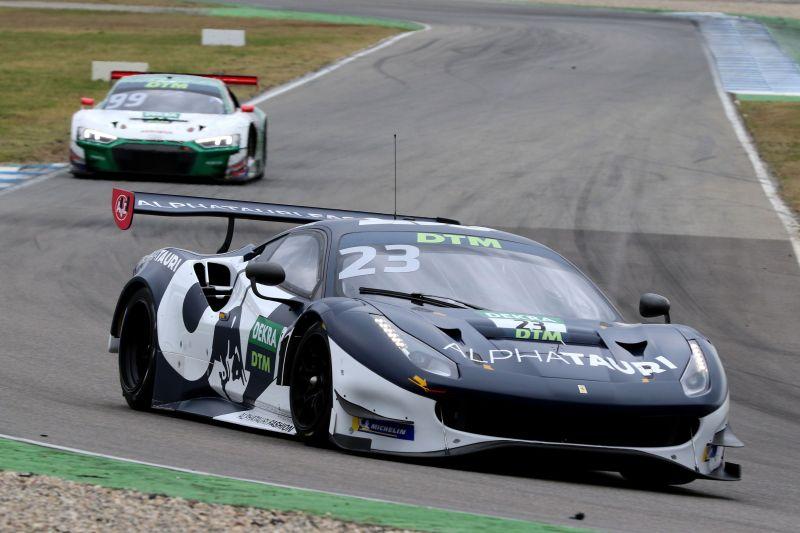 Albon Alexander Ferrari DTM 2021