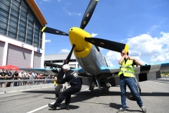 Static Display: P-51D Mustang im Lousiana Kid