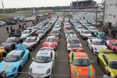 Porsche nach dem Rennen im Parc Ferme