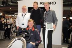 Gruppenbild-mit-Walter-Röhrl-vorne-und-CEO-Ulrich-J.-Severin-Rennfahrer-Fank-Stippler-und-dem-Chefkonstrukteur-Frank-Beermann_3738