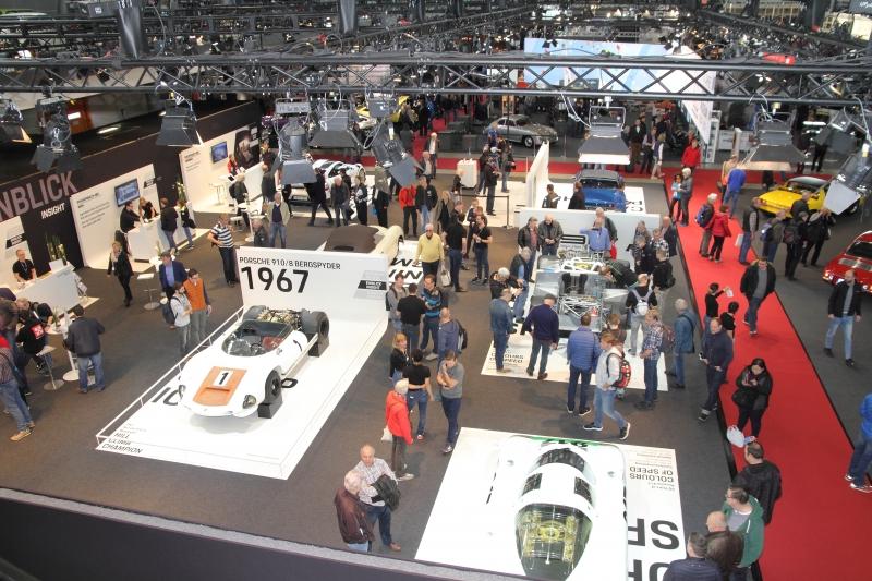 Porschewelt von oben - Foto Strähle