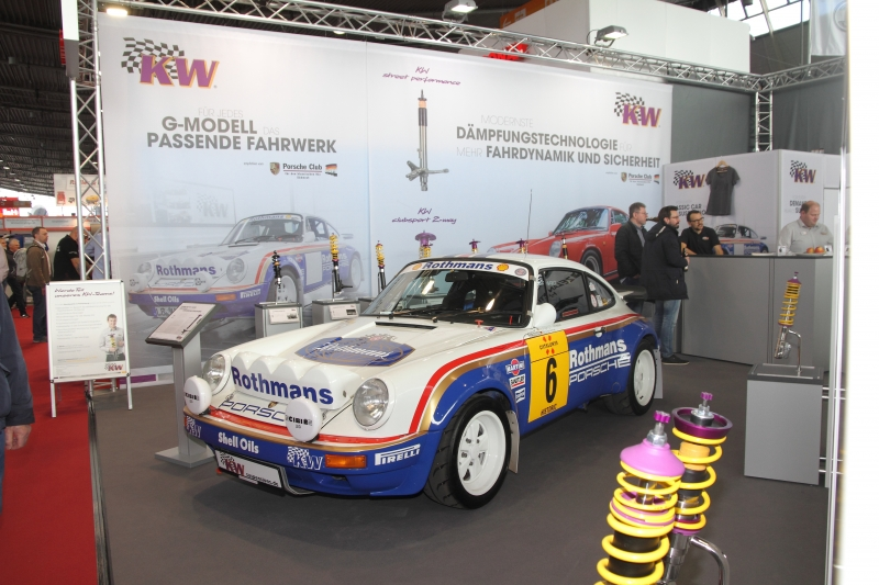 Wolfgang Inhesters 911 im Rothmans-Design - Foto Strähle