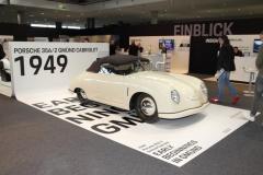 Der Erste von Porsche, das 356 Cabrio aus Gmünd - Foto Strähle