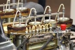 Einspritzanlage des Porsche Bergspyders - Foto Strähle