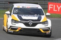 IMG_A. Morgan im Renault Megane